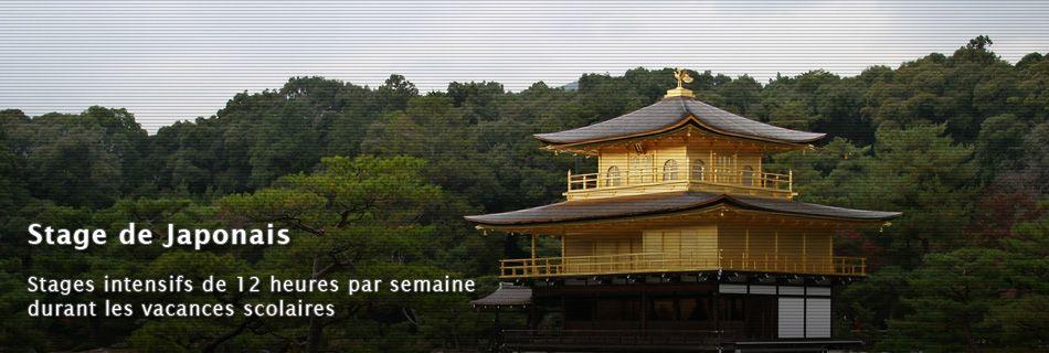 Stage de Japonais