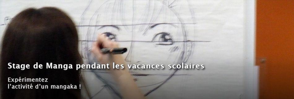 Stage de Manga pendant les vacances scolaires
